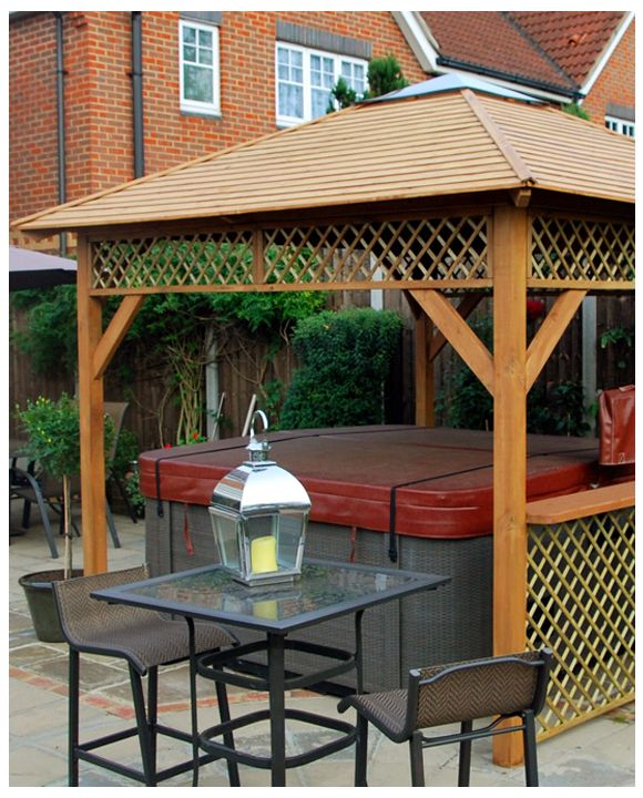 Gazebo Baltic Spa